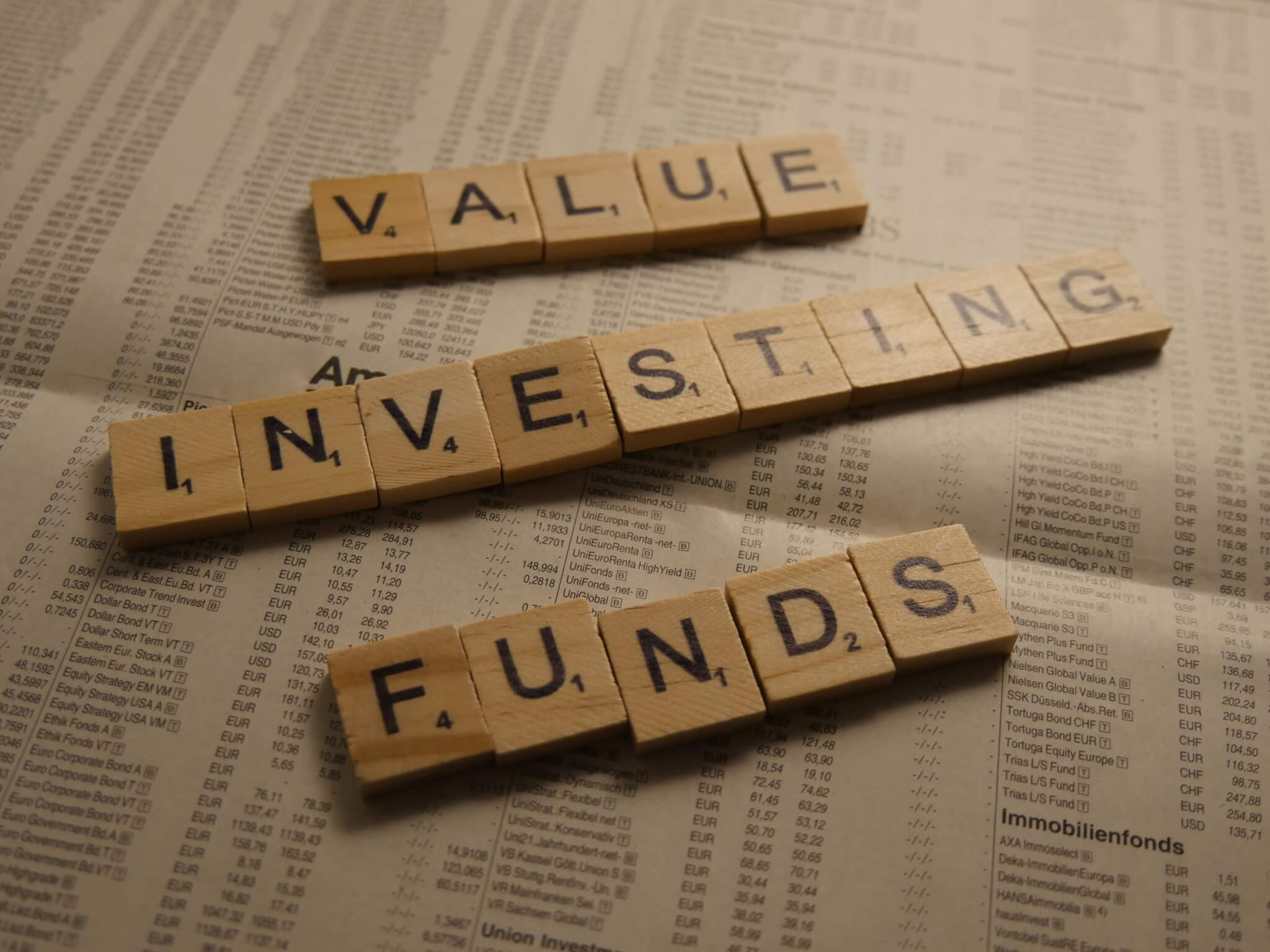 Value Investing Funds