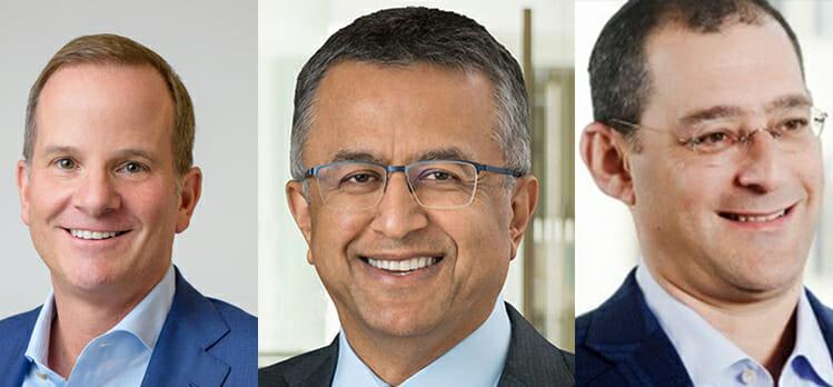 A panel with Victor Khosla, Robert Koenigsberger, Andrew J. Herenstein