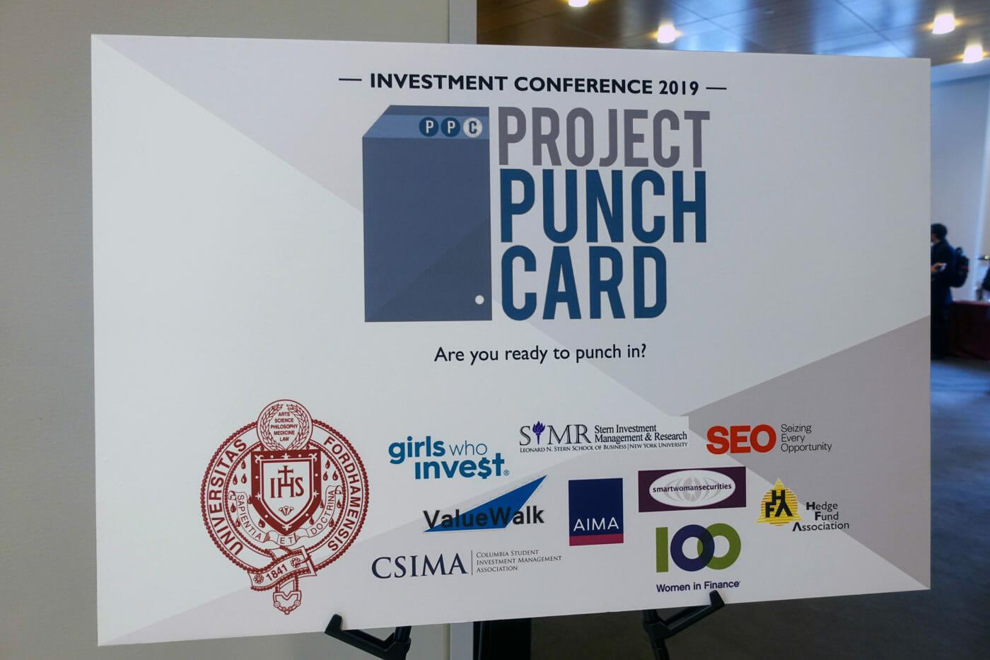 Spannende Vortragsnotizen der Project Punch Card Conference 2019