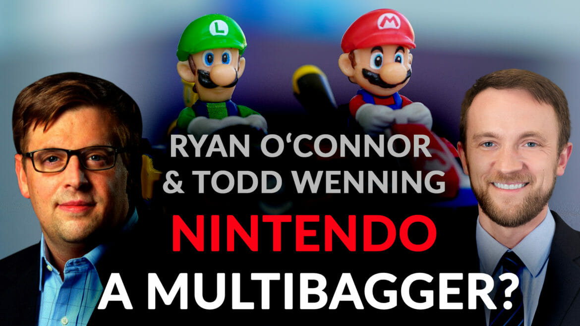 Is Nintendo a multi-bagger? Ryan O'Connor on Todd Wenning on $NTDOY